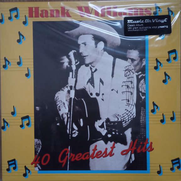 Hank Williams Hank Williams - 40 Greatest Hits LP 0