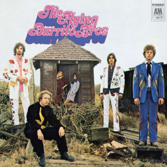 Flying Burrito Brothers Gilded Palace of Sin LP 2021