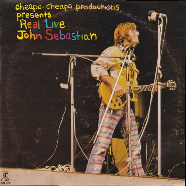 John Sebastian Real Live LP undefined