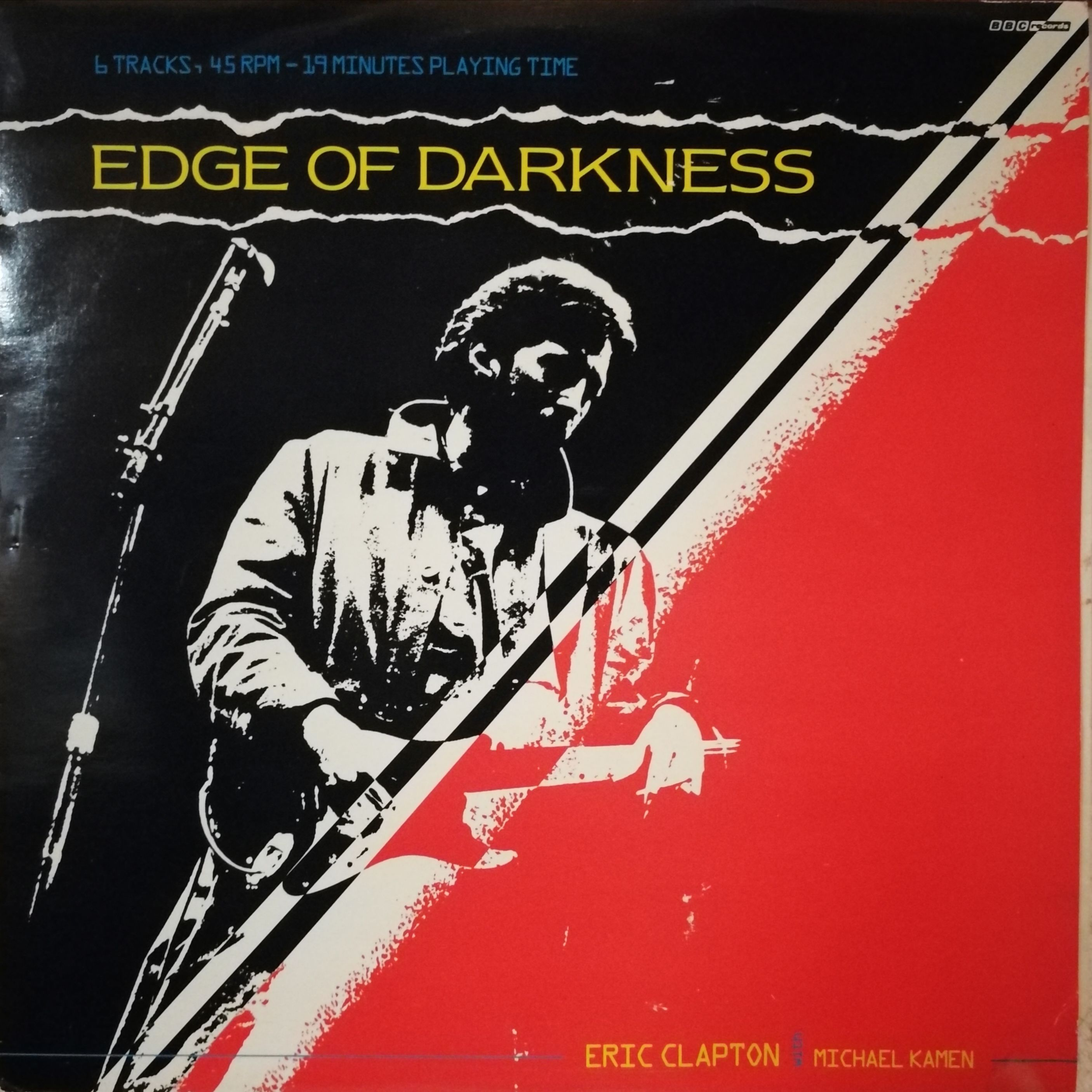 Eric Clapton with Michael Kamen Edge of Darkness LP undefined