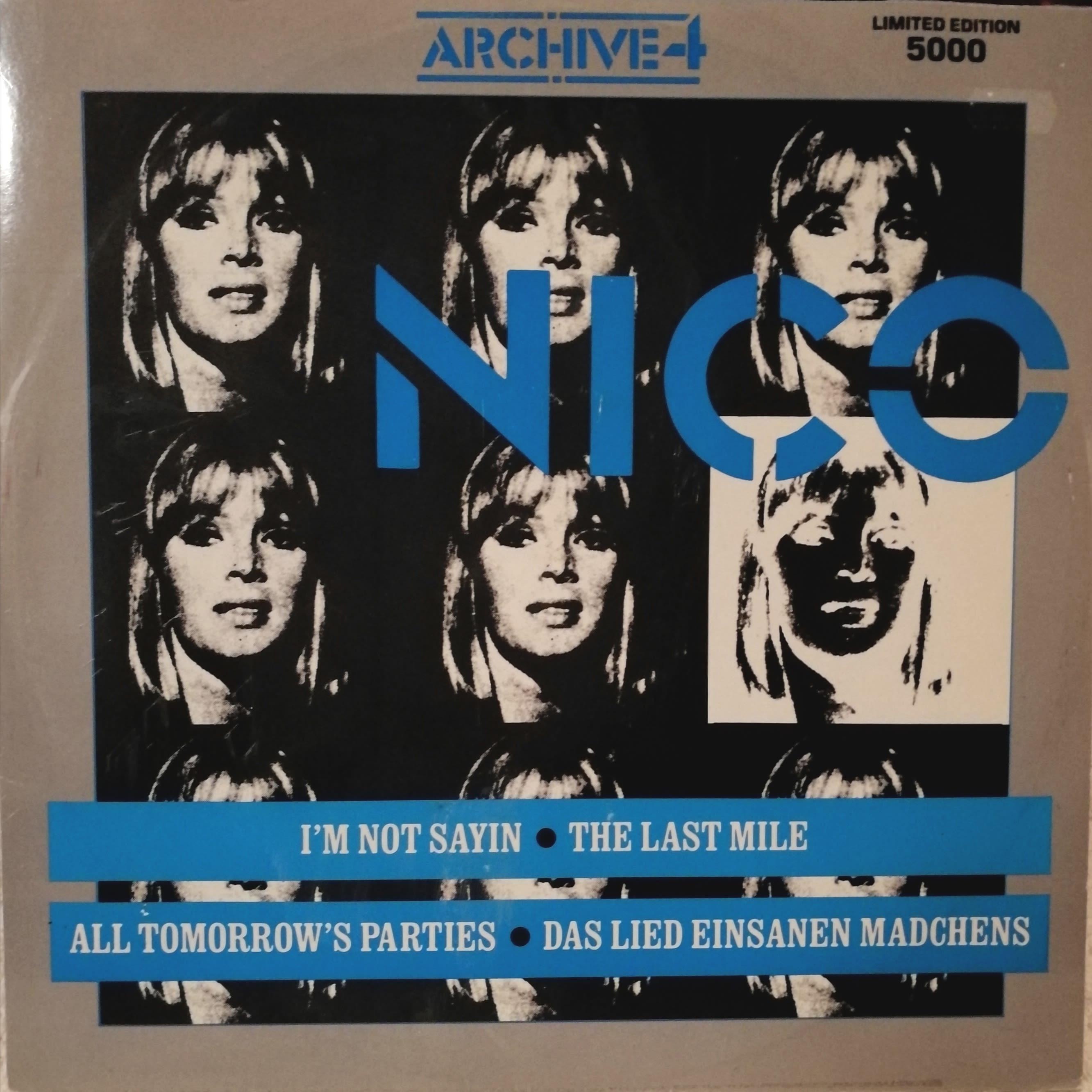 Nico I'm not sayin-ep LP undefined