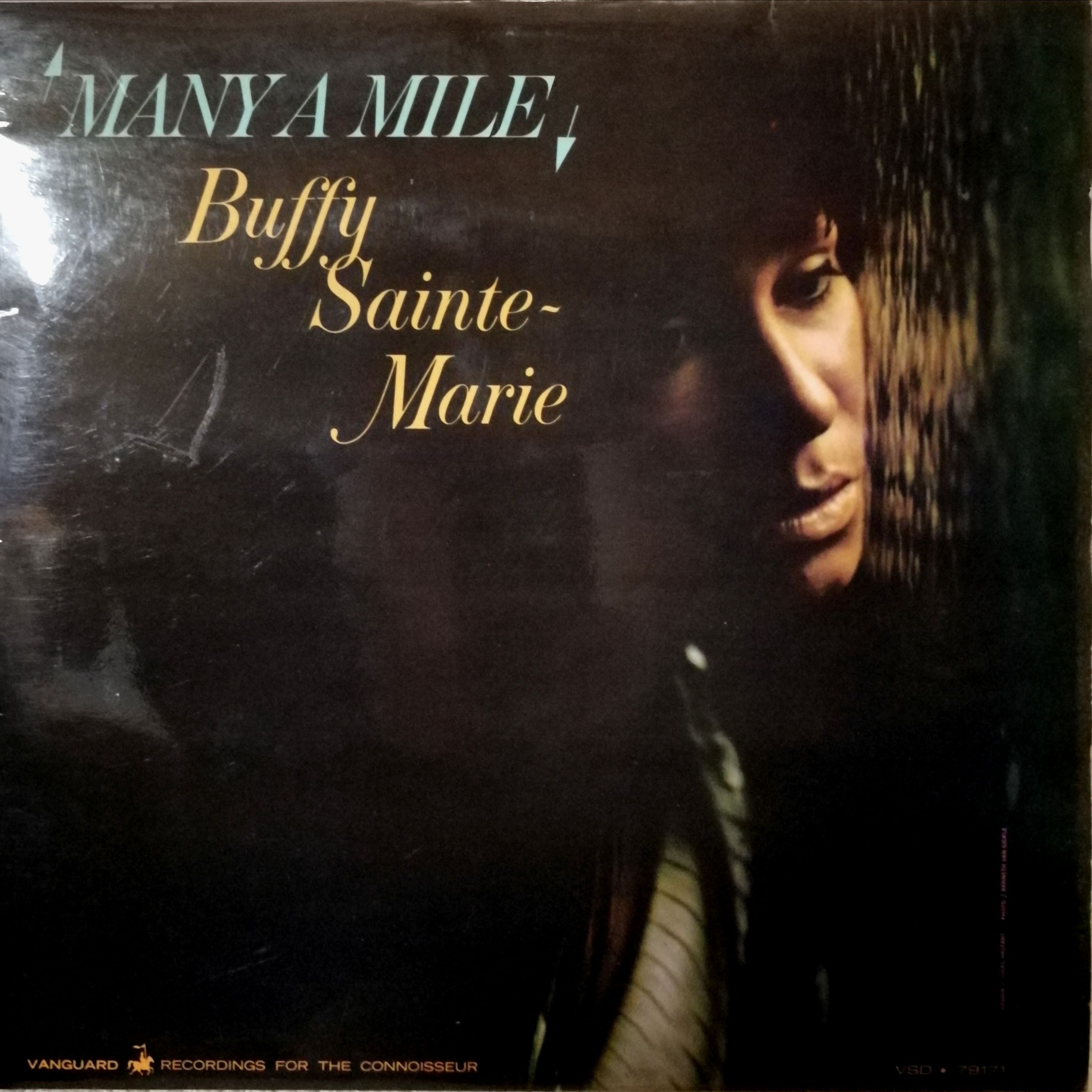 Buffy Sainte-Marie Many a Mile LP undefined