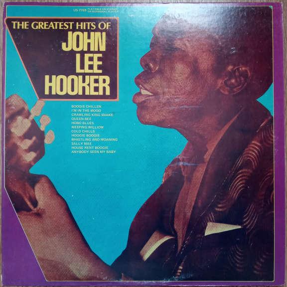 John Lee Hooker The Greatest Hits Of John Lee Hooker LP 0