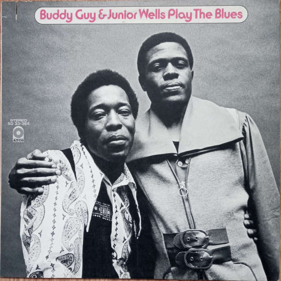 Buddy Guy & Junior Wells Play The Blues LP 0