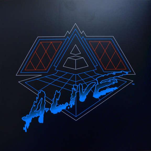 Daft Punk Alive 2007 LP 0