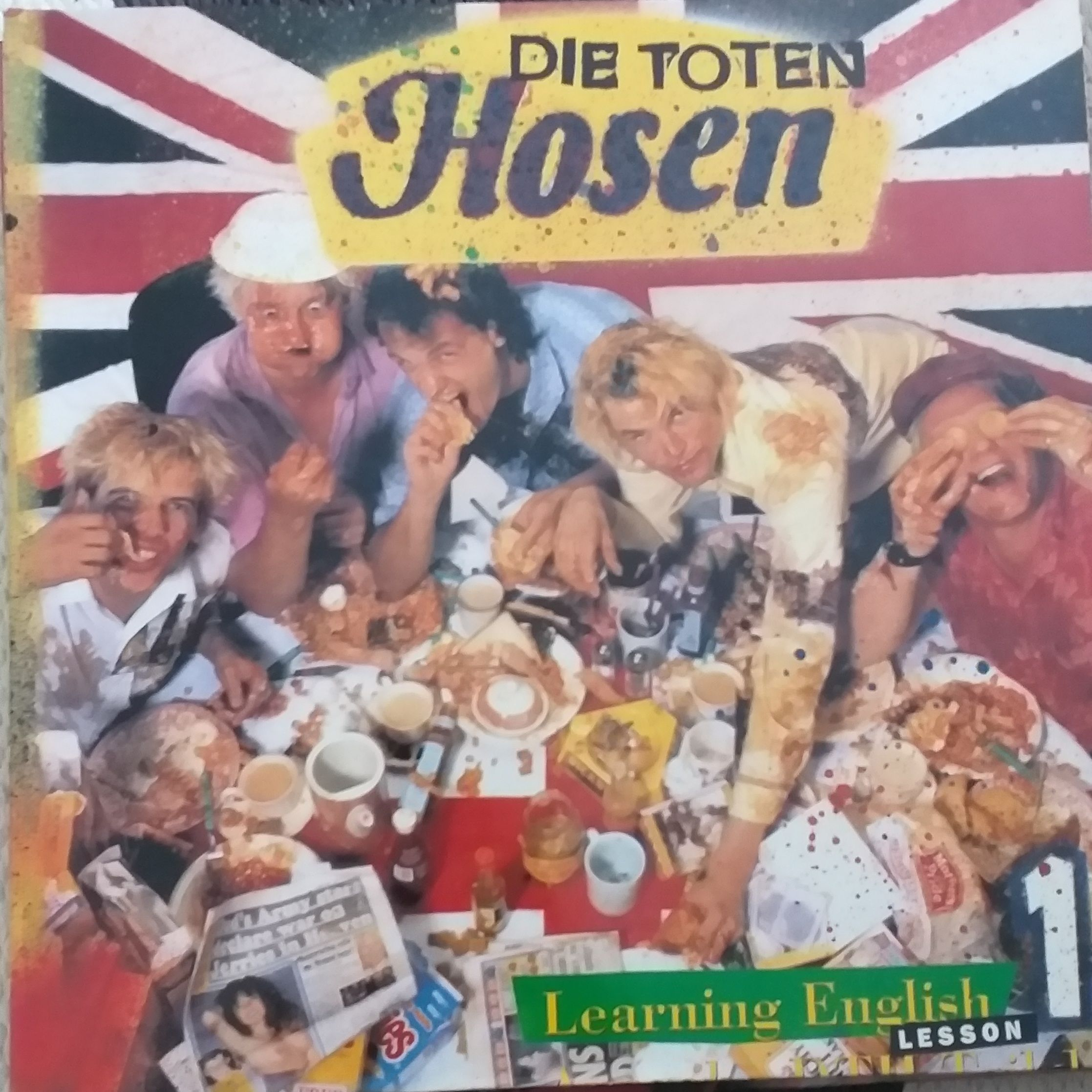 Die Toten hosen Learning English lesson 1 LP undefined