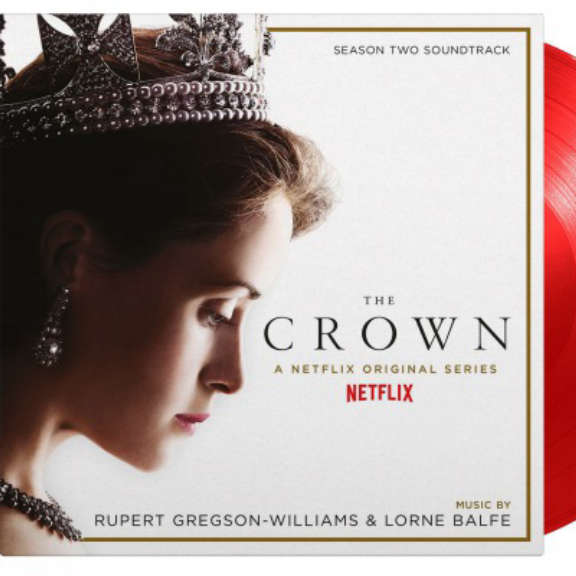 Rupert Gregson-Williams Soundtrack : Crown Season 2 (coloured) LP 2021