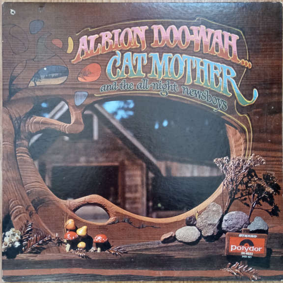 Cat Mother And The All-Night Newsboys Albion Doo-Wah... LP 0