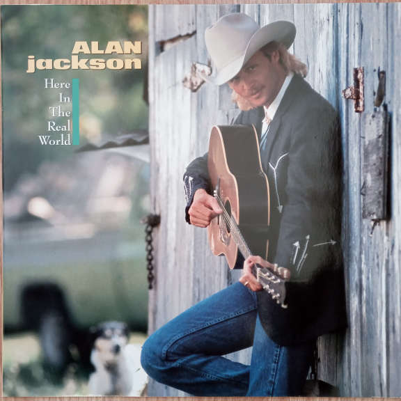 Alan Jackson Here In The Real World LP 0