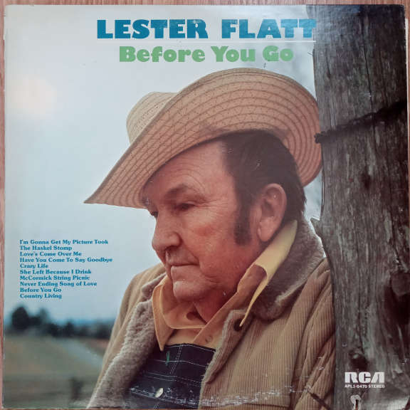 Lester Flatt Before You Go LP 0
