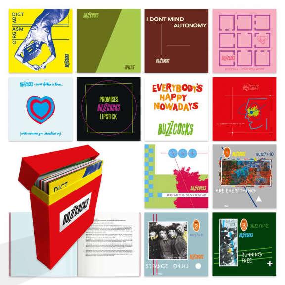 Buzzcocks Complete UA Singles 1977-1980 (box set) 7 tuumainen 2021