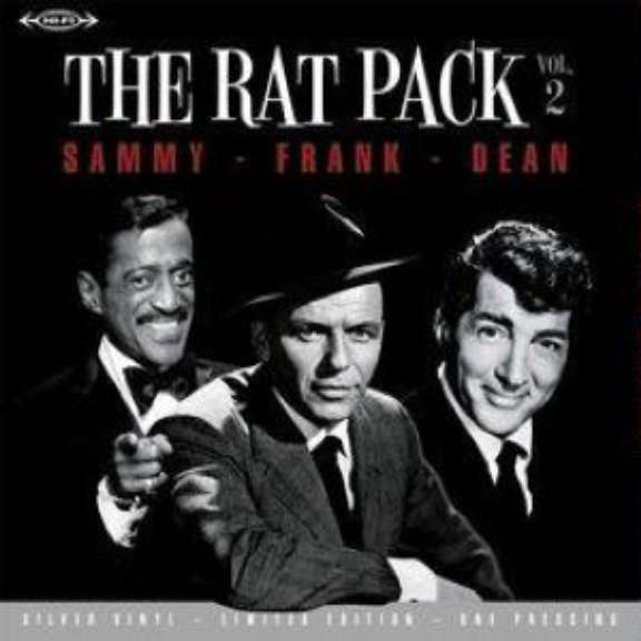 Frank Sinatra / Dean Martin / Sammy Davis Jr. The Rat Pack - Volume 2 (coloured) LP 2021