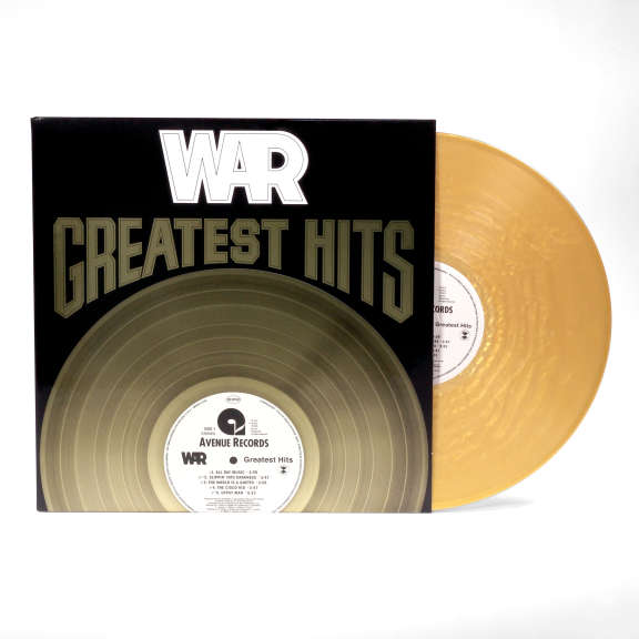 War Greatest Hits (coloured) LP 2021