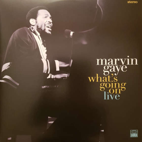 Marvin Gaye What's Going On Live LP 2019