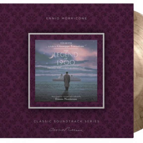 Ennio Morricone (various artists) Soundtrack : Legend of 1900 (coloured) LP 2021