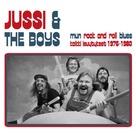 Jussi & The Boys Mun Rock And Roll Blues LP 2021