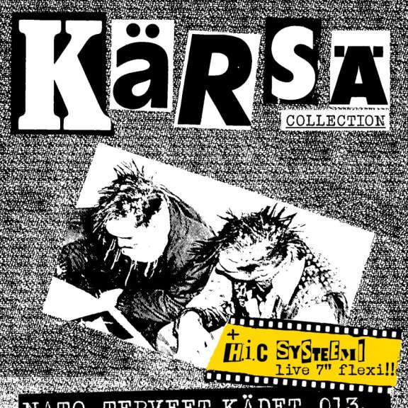 """Various KÄRSÄ-zine ,HIC SYSTEEMI live '83 flexi 7"""" 7 tuumainen 2021"""