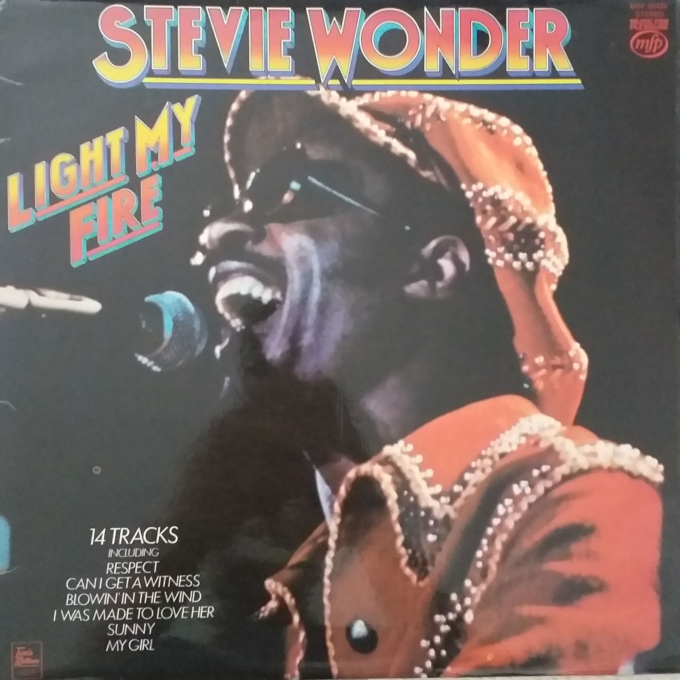 Stevie Wonder Light my fire LP undefined
