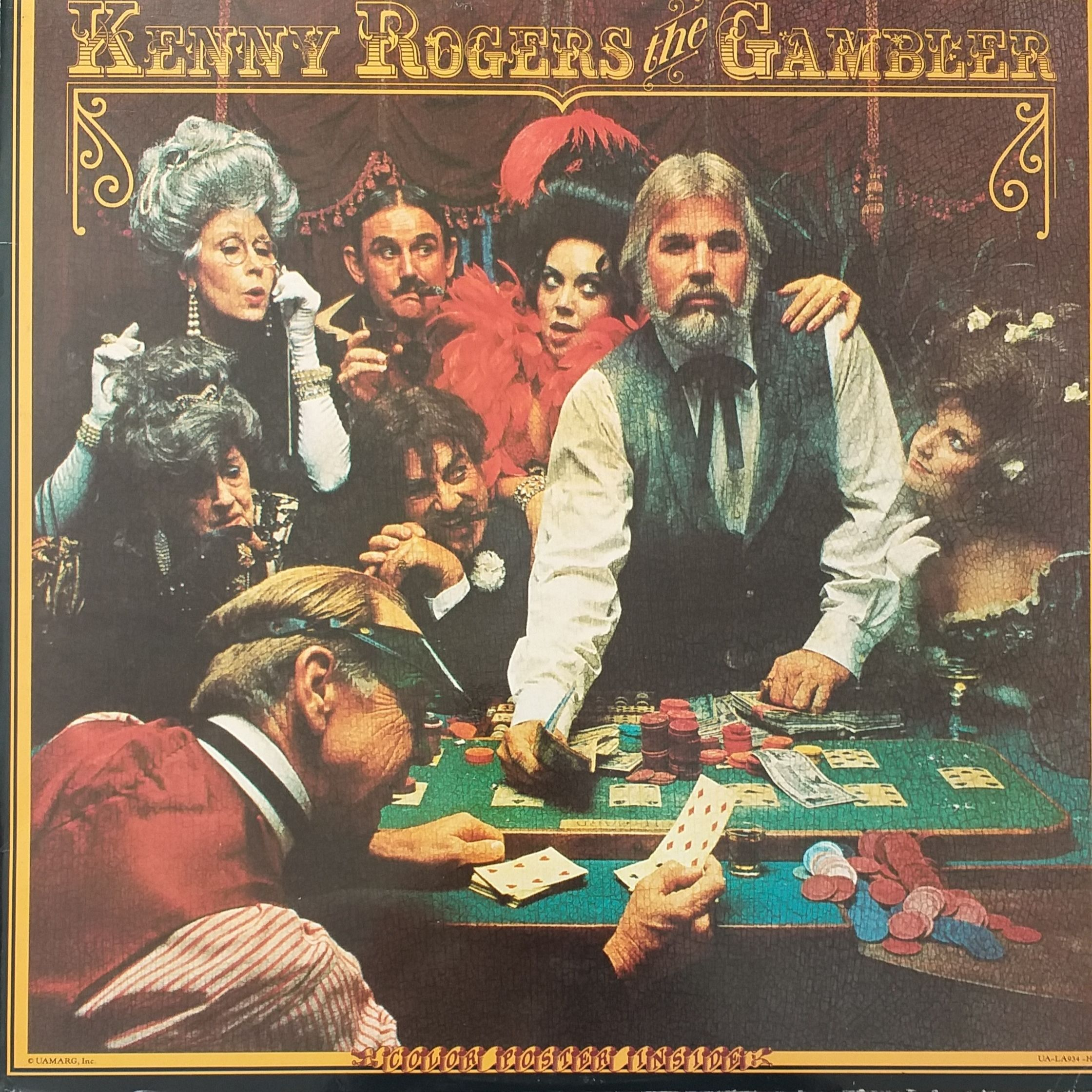 Kenny Rodgers The gambler LP undefined