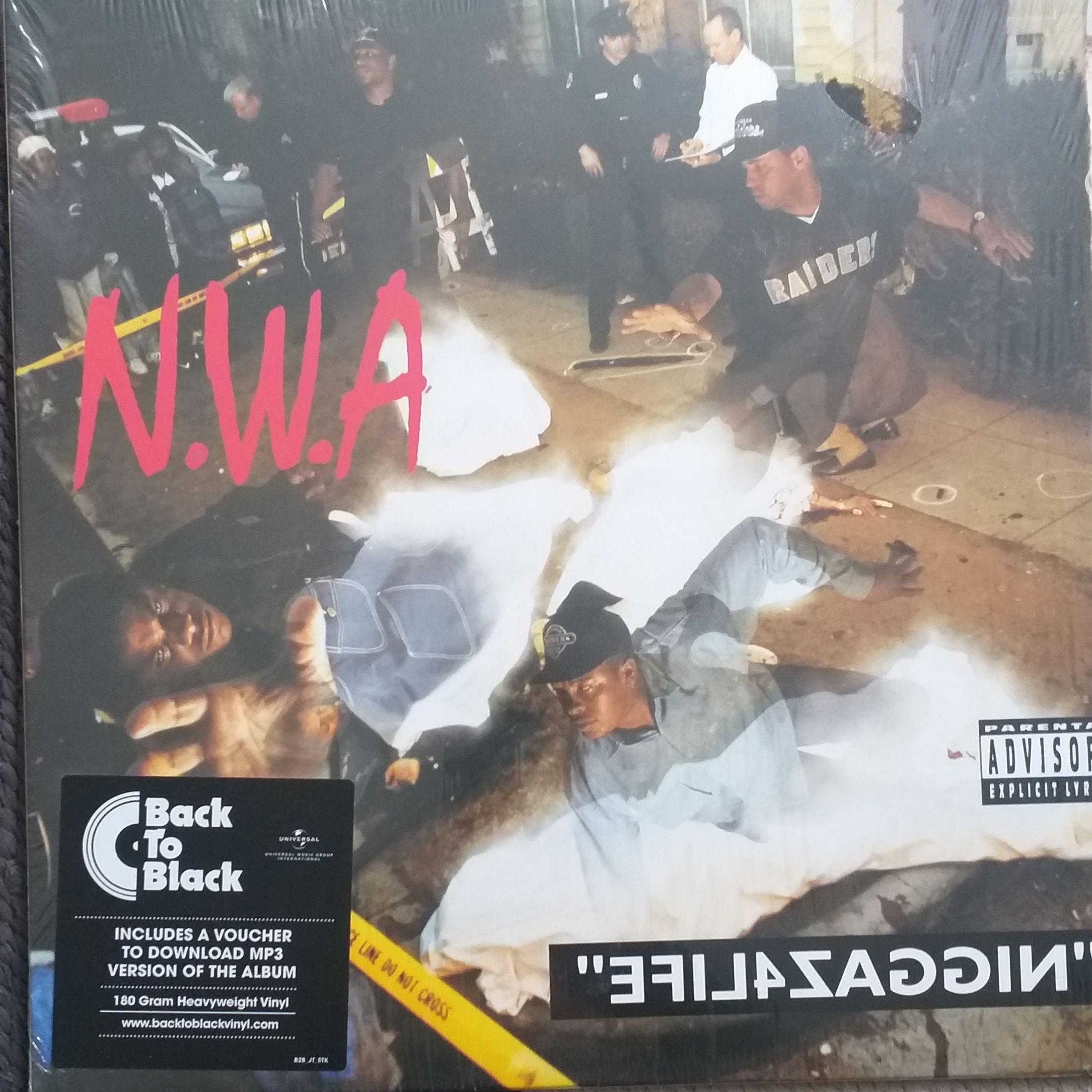 """N.W.A """"efil4zaggin"""" LP undefined"""