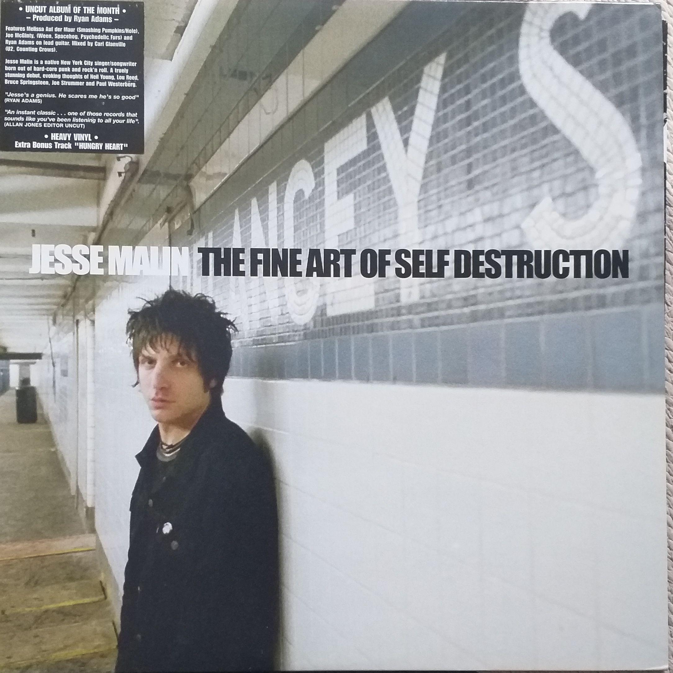 Jesse Malin The fine art self destruction LP undefined