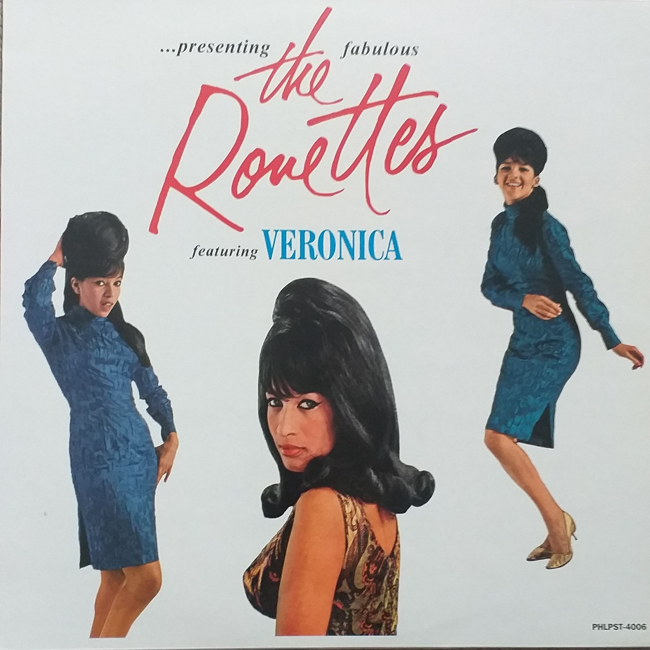 The ronettes Presenting the fabulous... LP undefined
