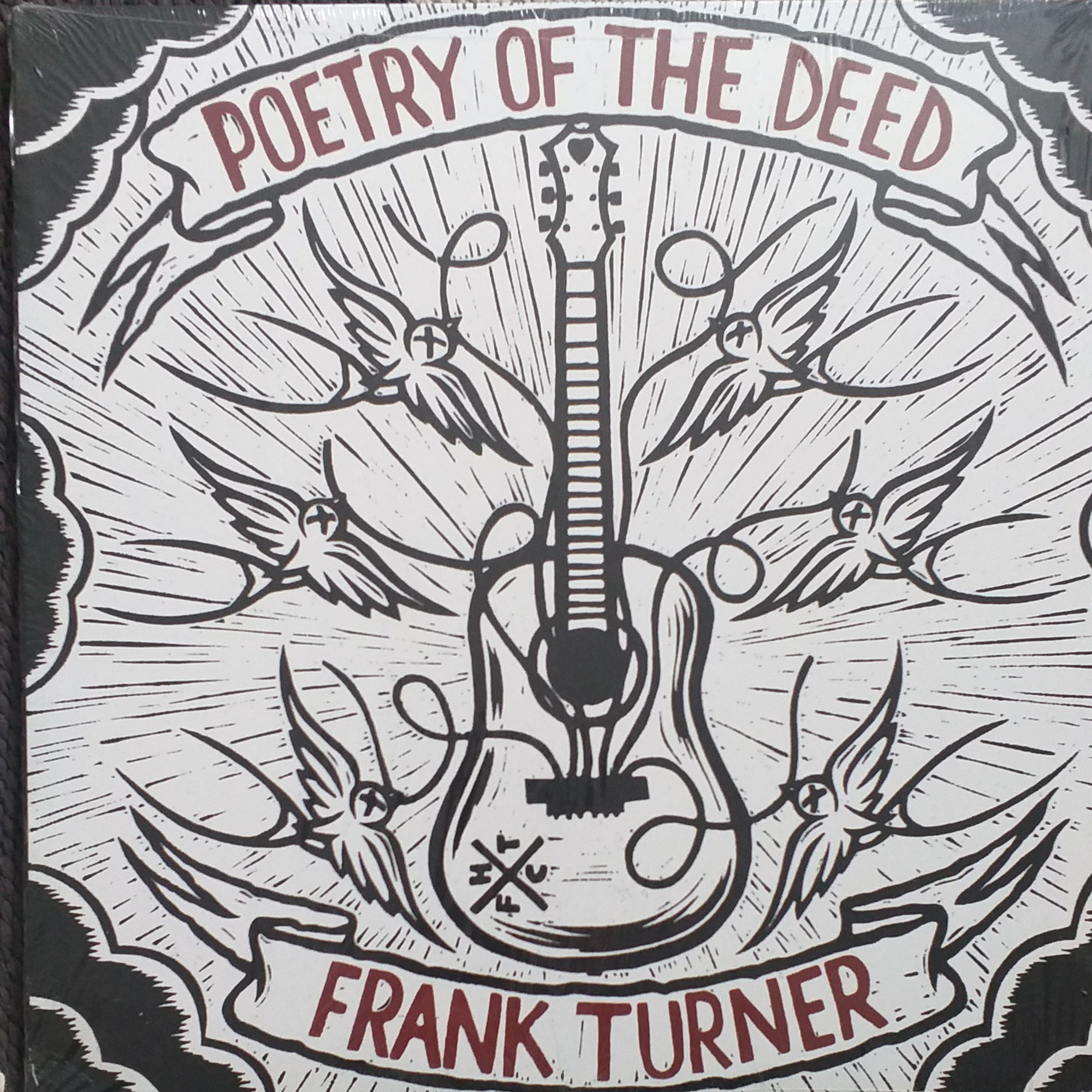 Frank Turner Poetry of the deed LP undefined