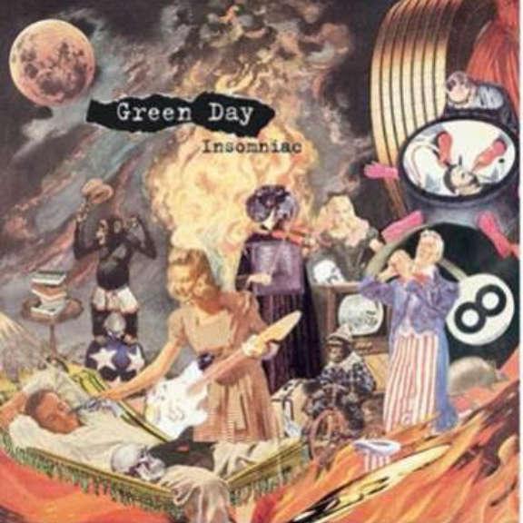 Green Day Insomniac (25th Anniversary) LP 2021