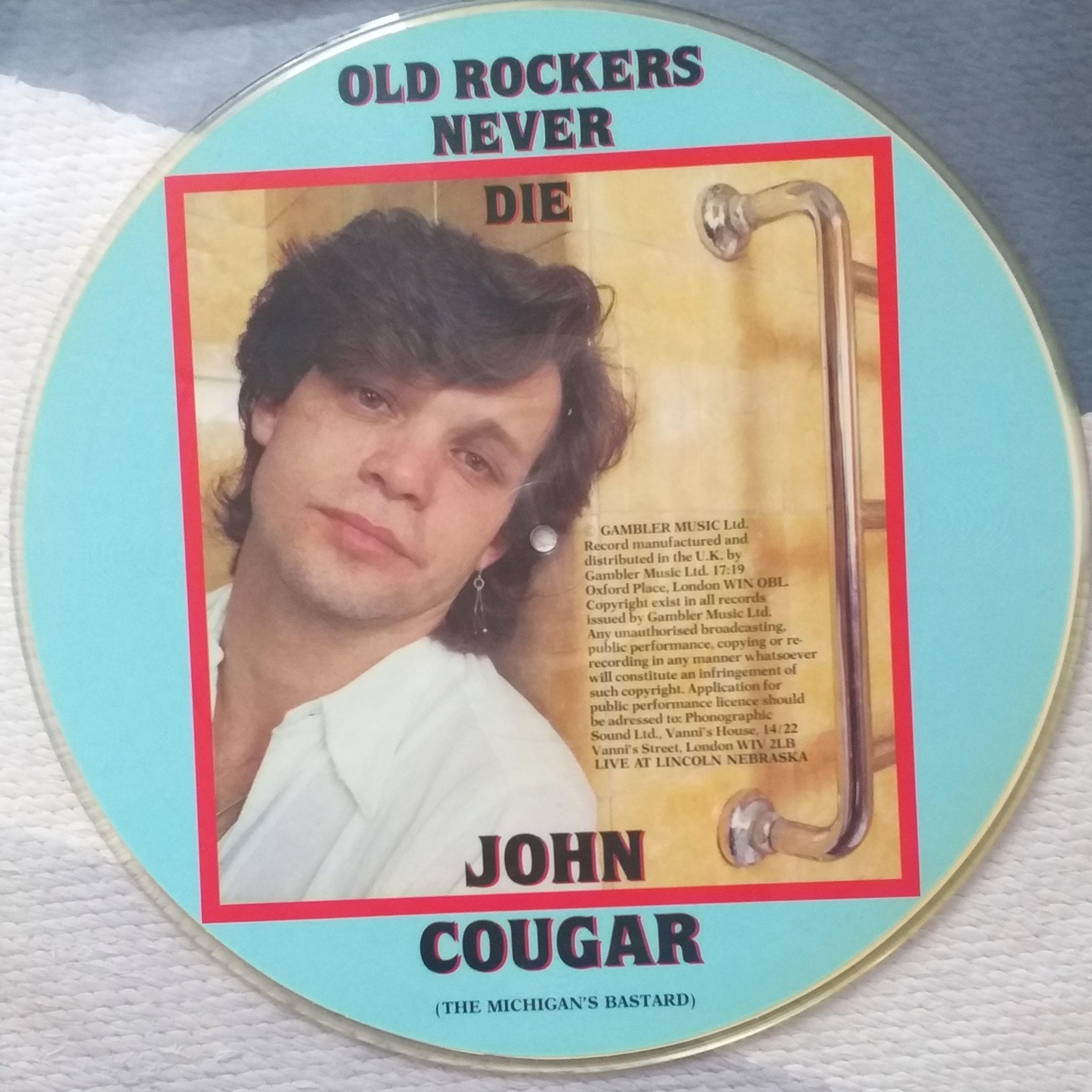 John cougar Mellencamp Old rockers never die(live 82) LP undefined