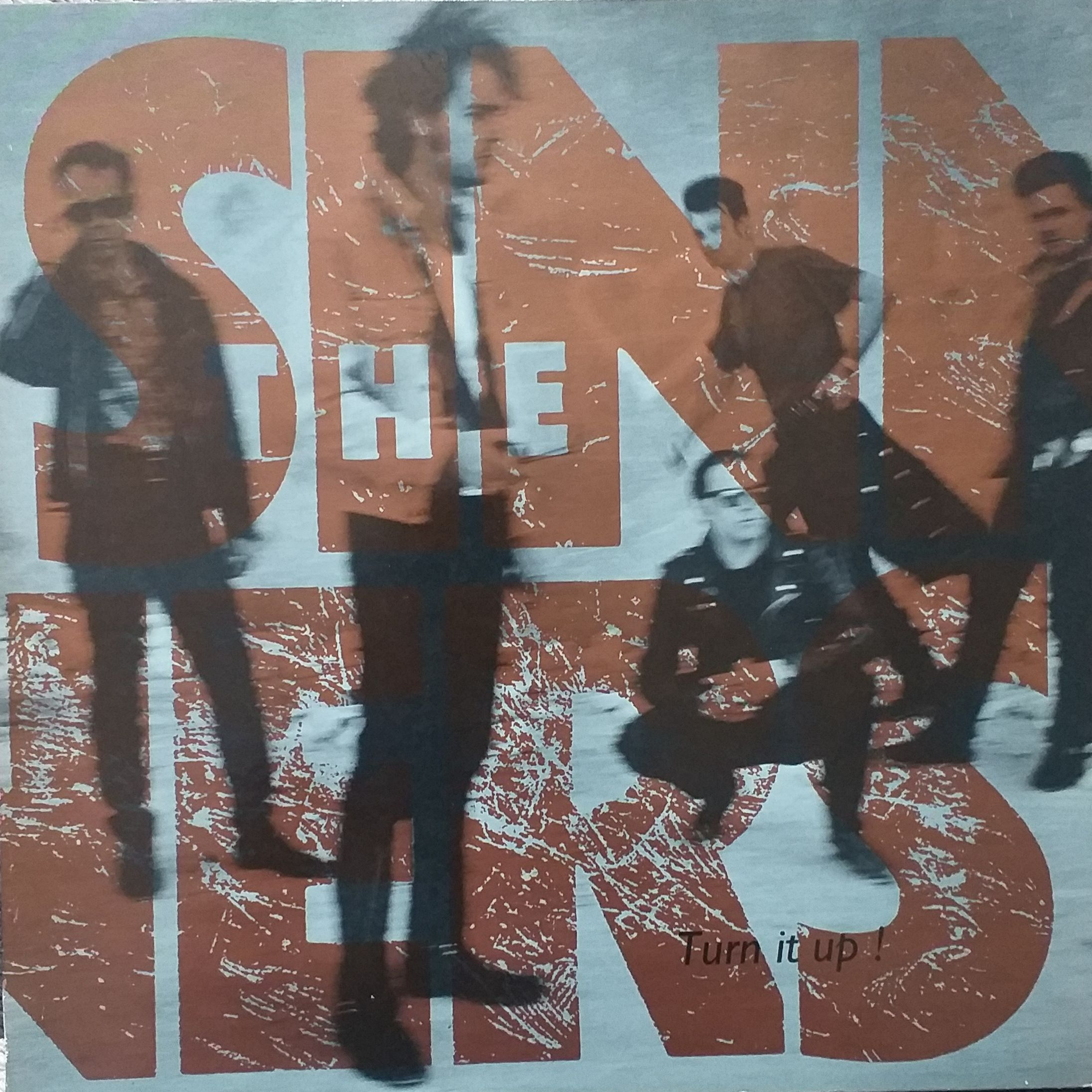 The Sinners Turn it up! LP undefined