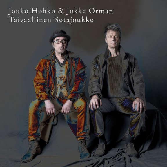 """Jouko Hohko & Jukka Orman taivaallinen sotajoukko A. Rannanjärvi Elää! 10"""" LP 2021"""