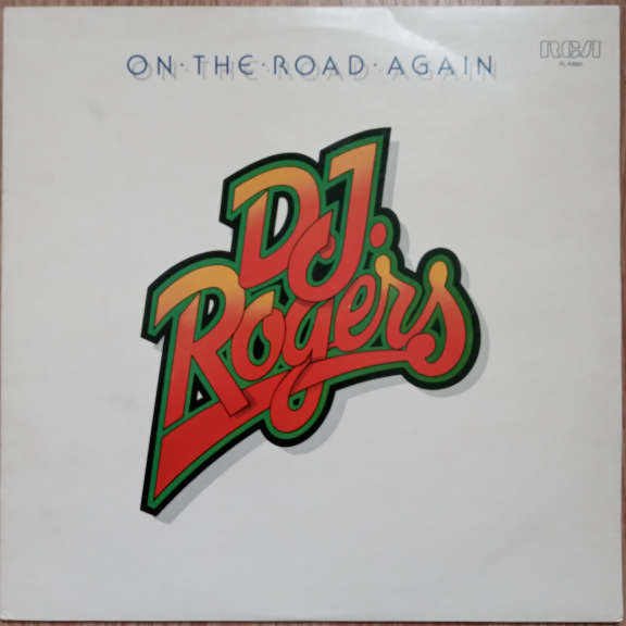 D. J. Rogers On The Road Again LP 0