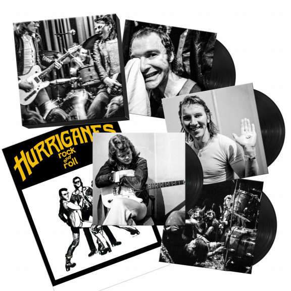 Hurriganes Hamina and Helsinki All Night Long (Box set) LP 2021