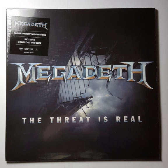Megadeth The Threat Is Real LP 0