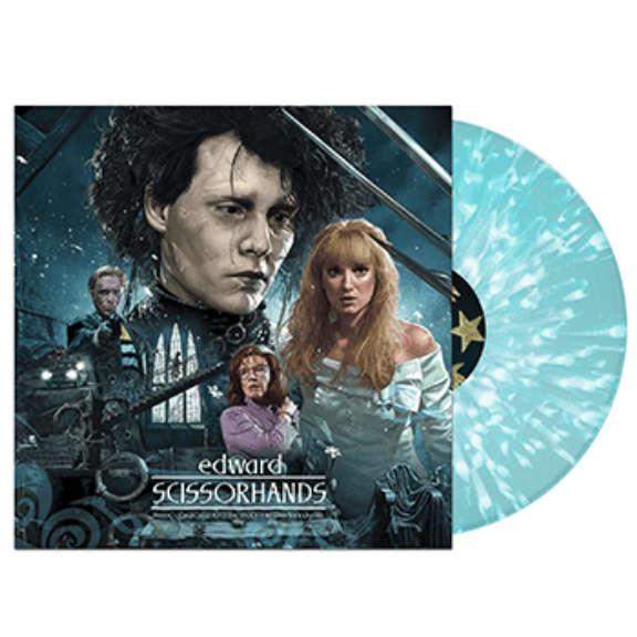 Danny Elfman Soundtrack : Edward Scissorhands (30th anniversary) (coloured) LP 2021
