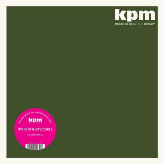Keith Mansfield Vivid Underscores LP 2021