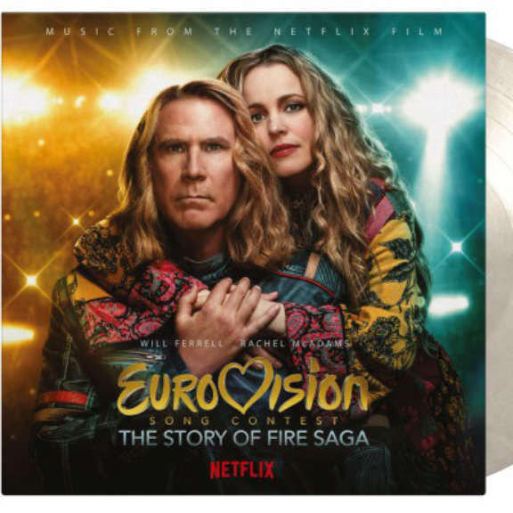 Various Soundtrack : Eurovision Song Contest: Story of Fire Saga (snow&ice) LP 2021