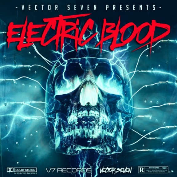 Vector Seven Electric Blood (coloured) LP 2021