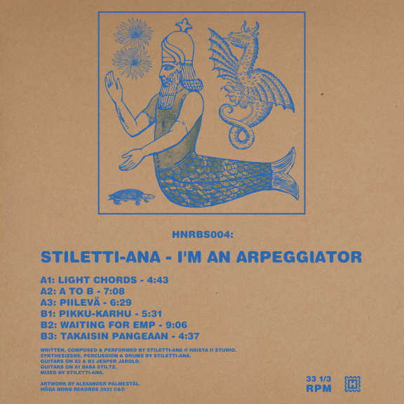 Stiletti-Ana I'm An Arpeggiator LP 2021