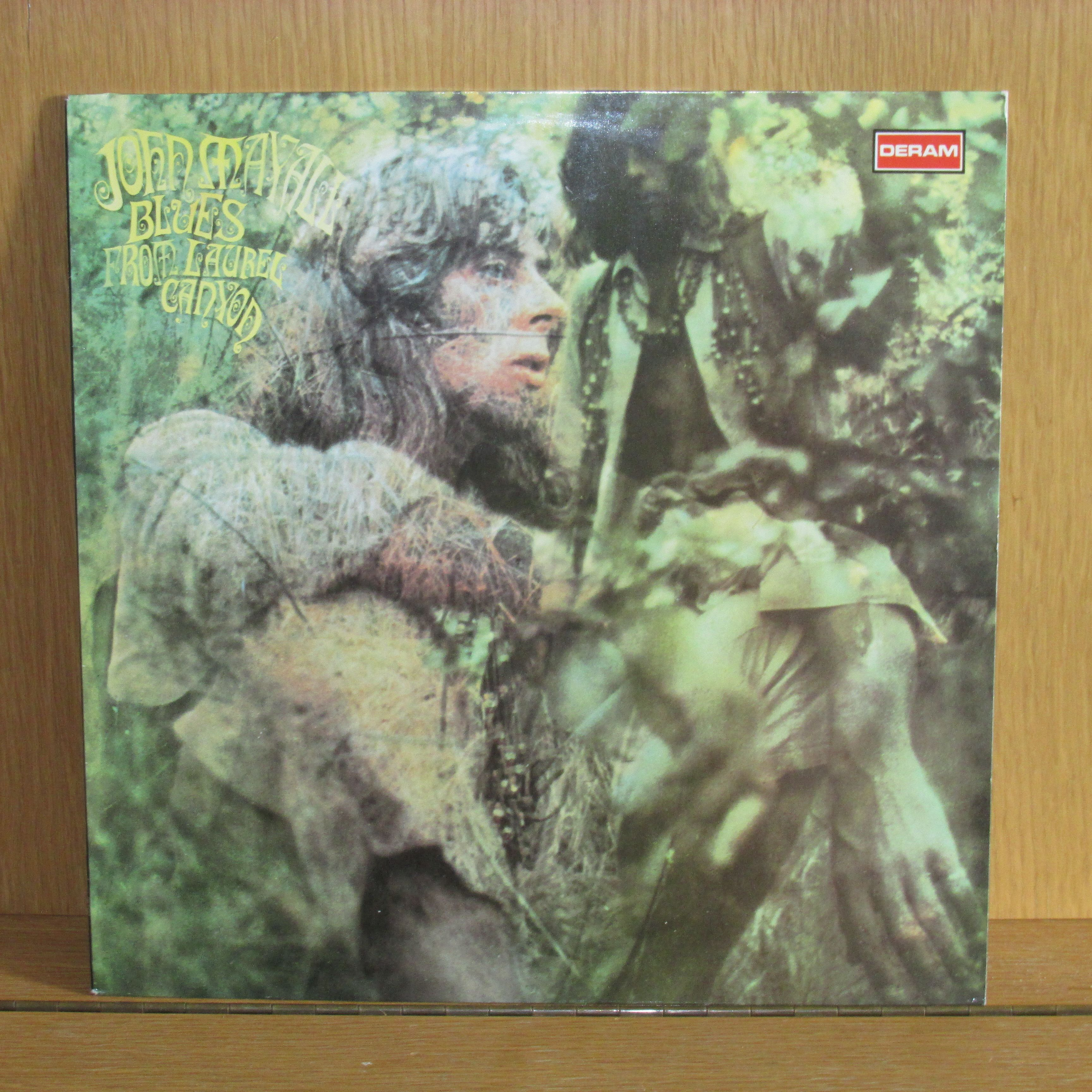 John Mayall Blues From Laurel Canyon LP undefined