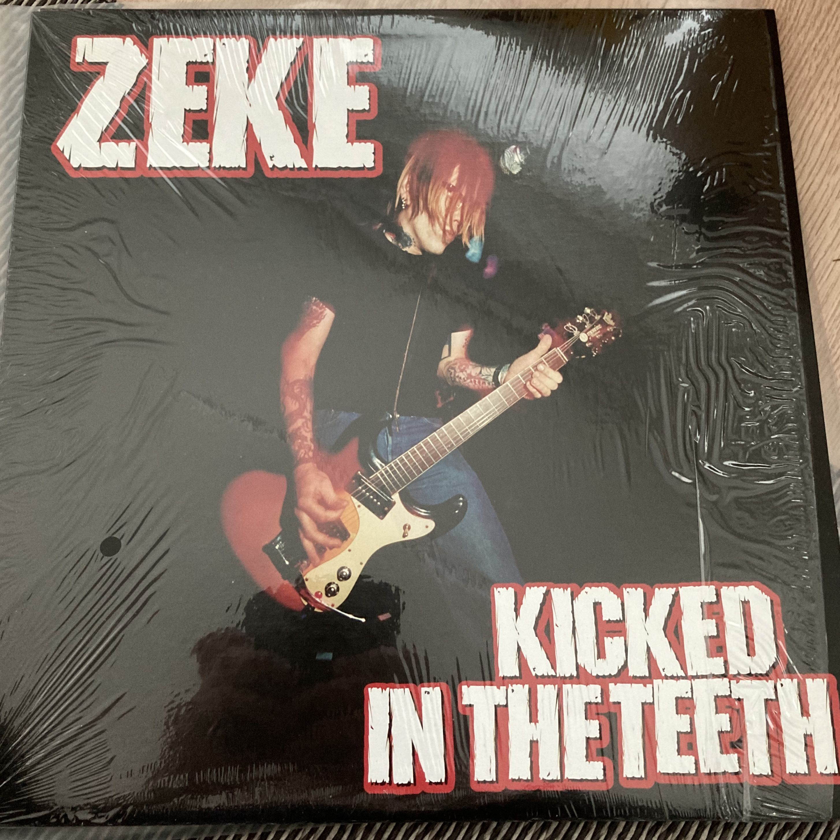 Zeke Kicked in the teeth LP undefined