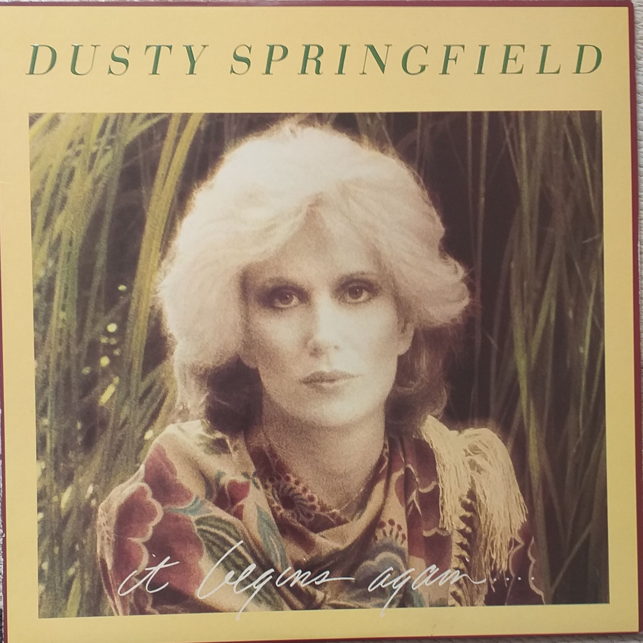 Dusty Springfield It begins again LP undefined