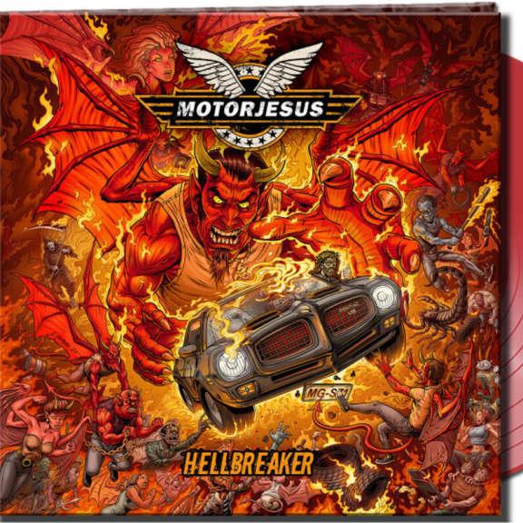 Motorjesus Hellbreaker (red) LP 2021