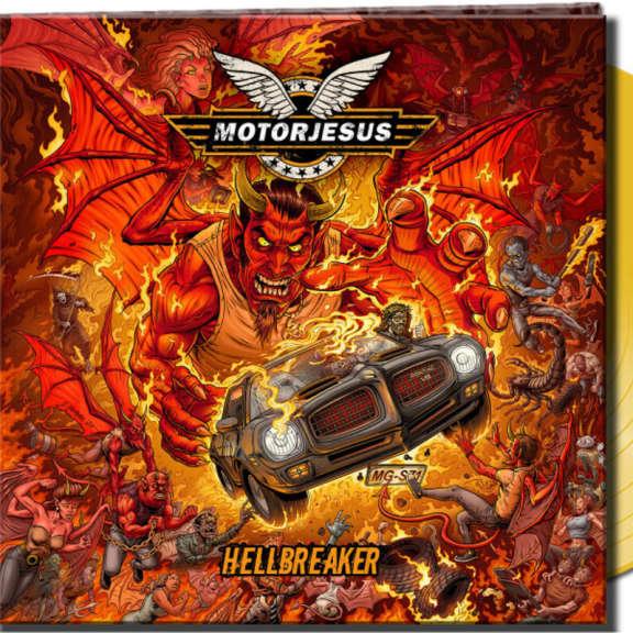 Motorjesus Hellbreaker (yellow) LP 2021