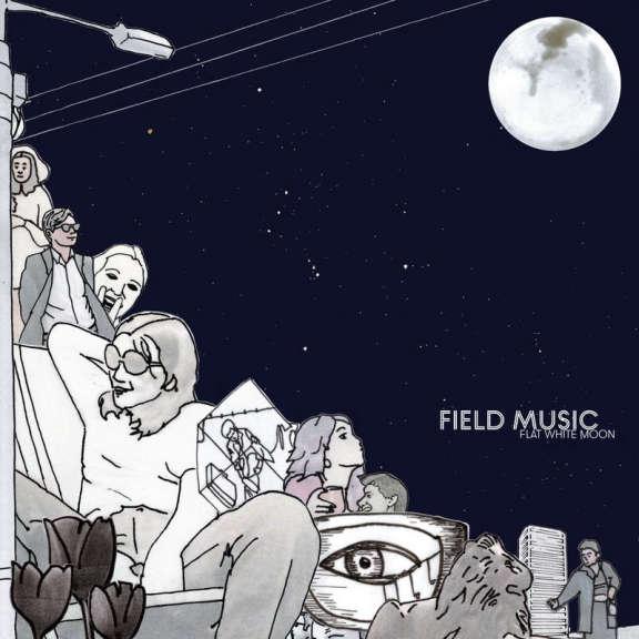 Field Music Flat White Moon (black) LP 2021