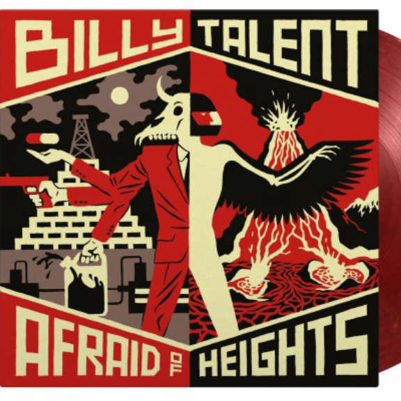 Billy Talent Afraid of Heights (coloured) LP 2021