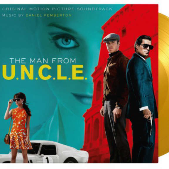 Daniel Pemberton (various artists) Soundtrack : The Man From U.N.C.L.E. (coloured) LP 2021