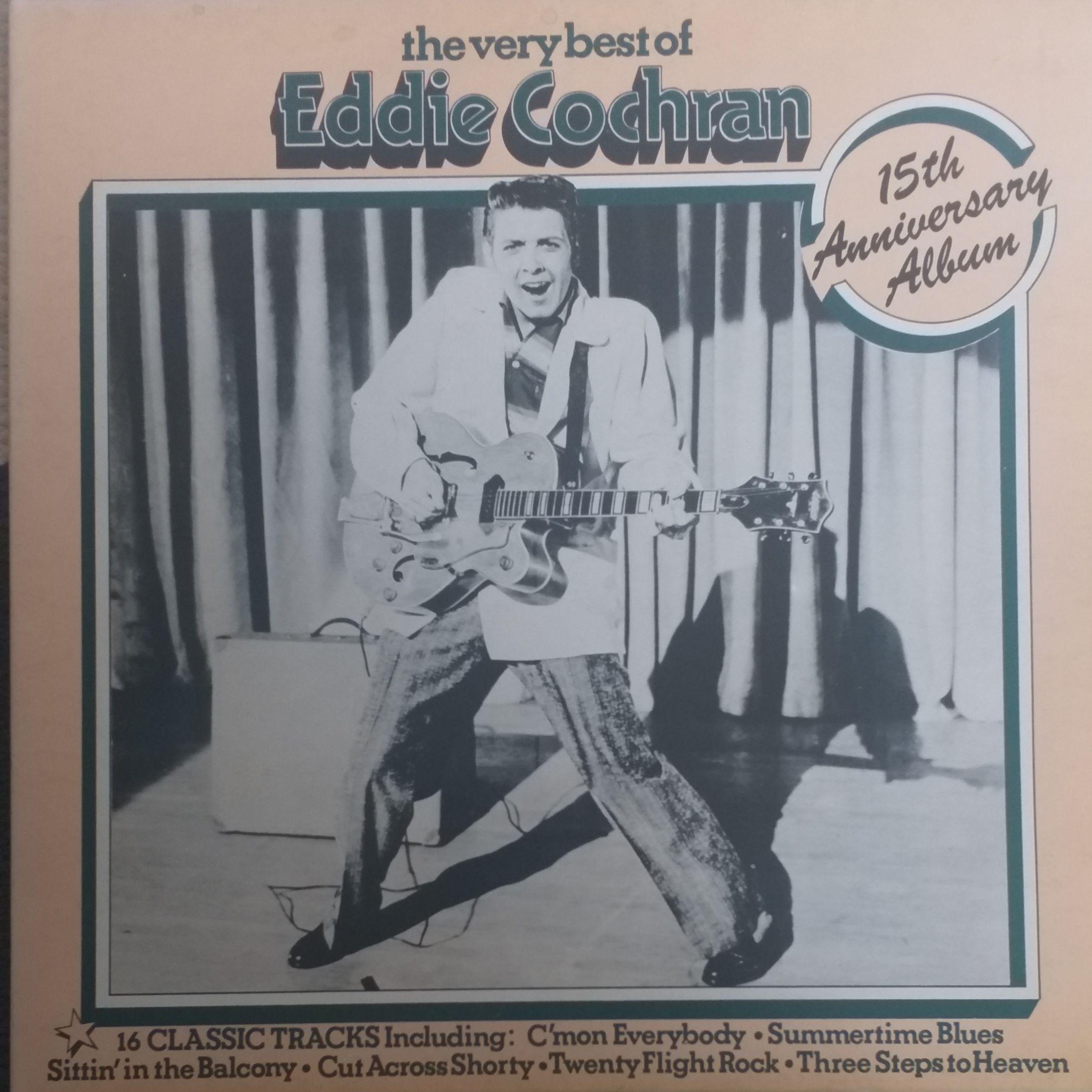 Eddie Cochran The very best of LP undefined