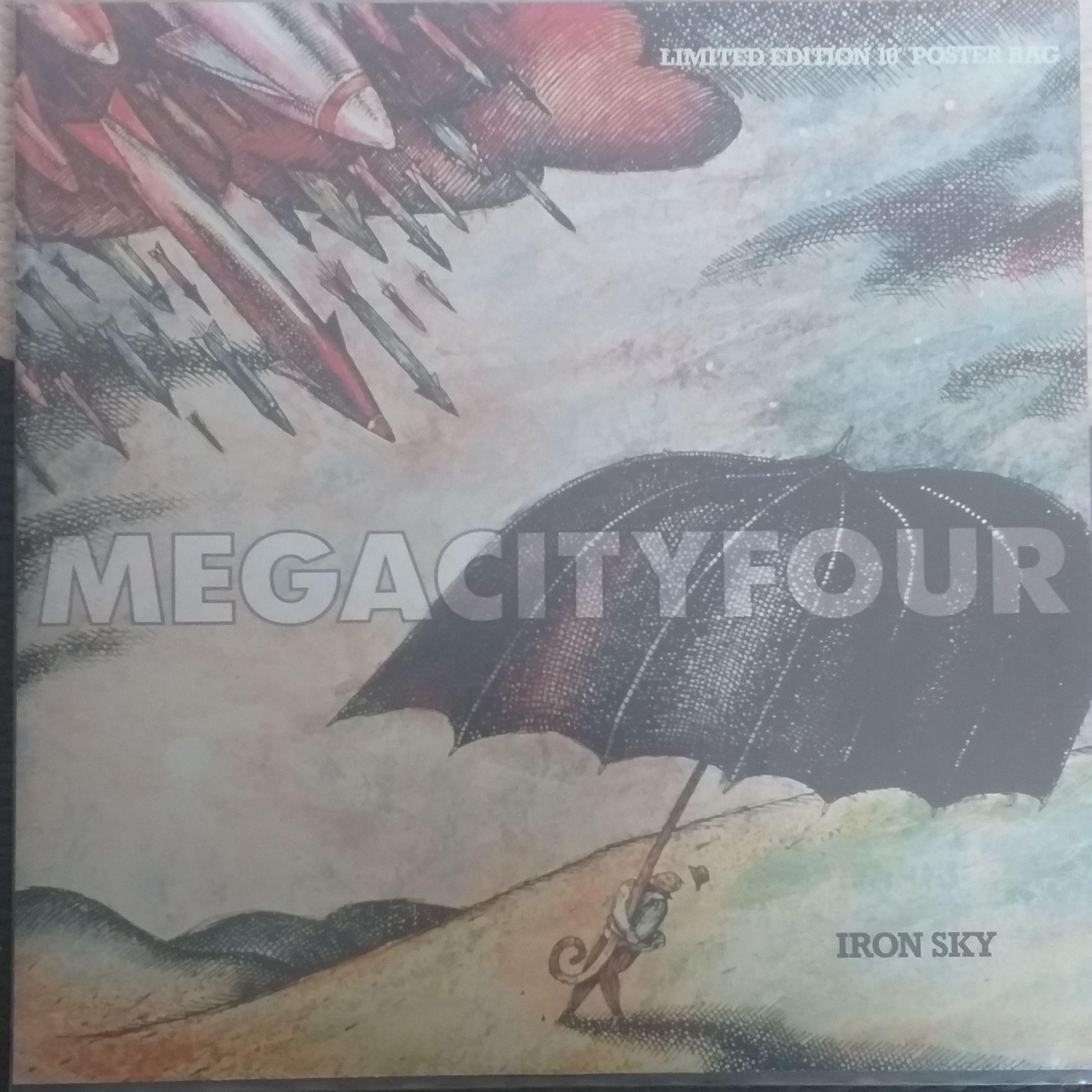 Mega city four Iron sky LP undefined
