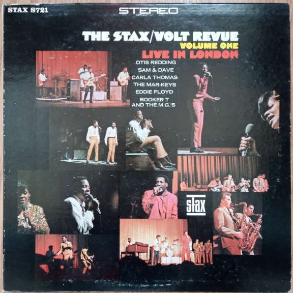 Various The Stax / Volt Revue, Volume One, Live In London LP 0